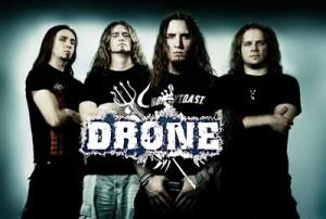 Drone spielen im Januar in Paderborn.